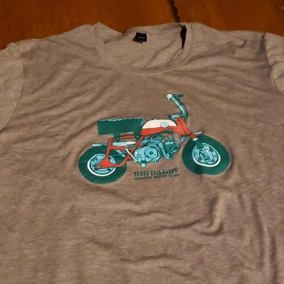 Ladies large Big Daddy Midget Moto Club T-shirt